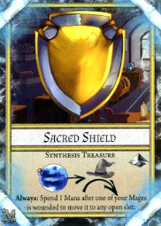 Synthesis Treasure<br />Sacred Shield